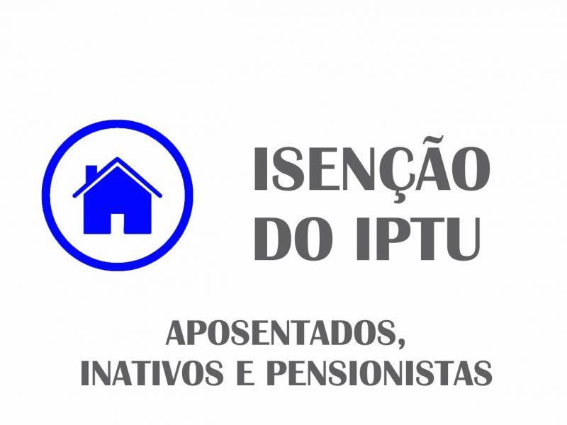 Foto de capa da notícia Isenção do IPTU para Aposentados, inativos ou Pensionistas