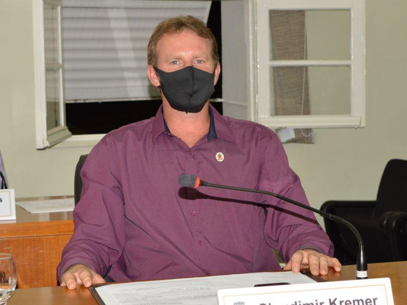 Foto de capa da notícia Suplente Claudimir Kremer (Alemão) assume vaga no Legislativo.