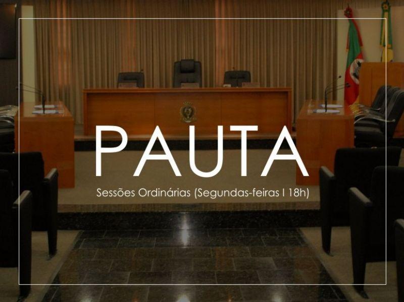 Foto de capa da notícia Pauta Sessão Ordinária (09.11.2020 )