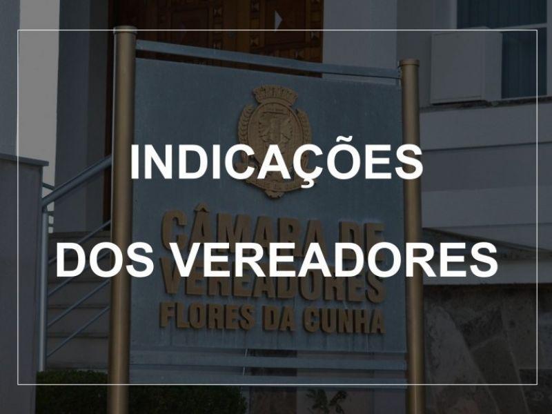 Foto de capa da notícia Indicações dos Vereadores (Sessão Ordinária  09.11.2020)