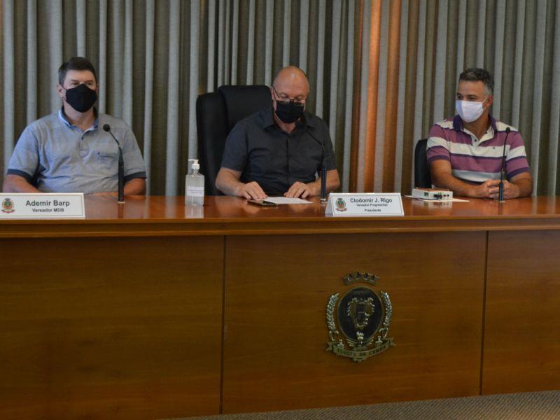 Foto de capa da notícia: Realizada primeira reunião da Comissão Representativa
