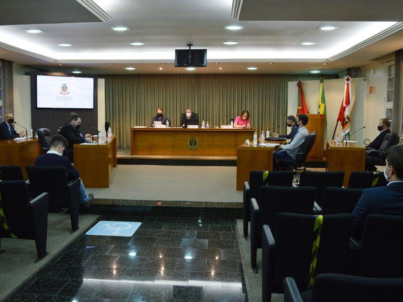 Foto de capa da notícia Vereadores aprovam permuta de imóveis em sessão ordinária