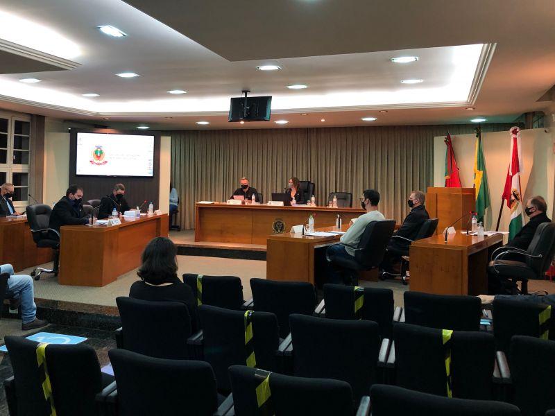 Foto de capa da notícia Vereadores aprovam dois projetos por unanimidade