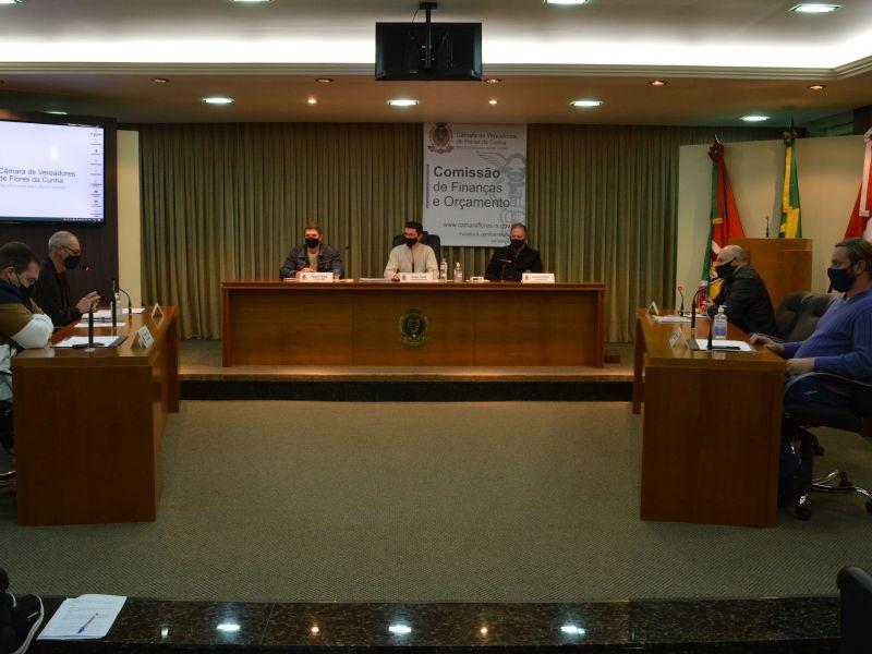 Foto de capa da notícia Câmara apresenta Plano Plurianual em Audiência Pública