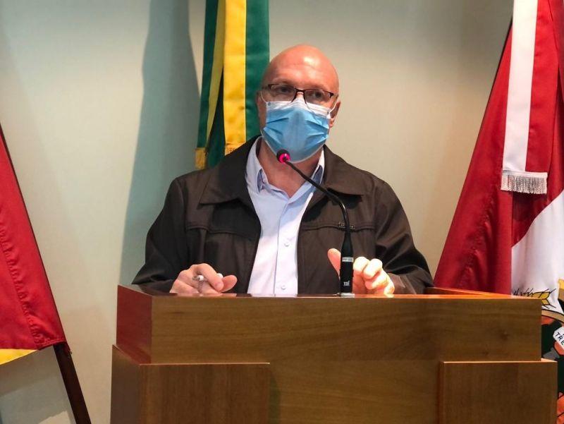 Foto de capa da notícia Clodo Rigo elogia atendimento administrativo via aplicativo