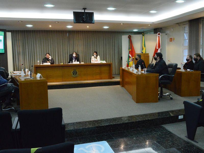 Foto de capa da notícia Audiência apresentou relatório de gestão de saúde