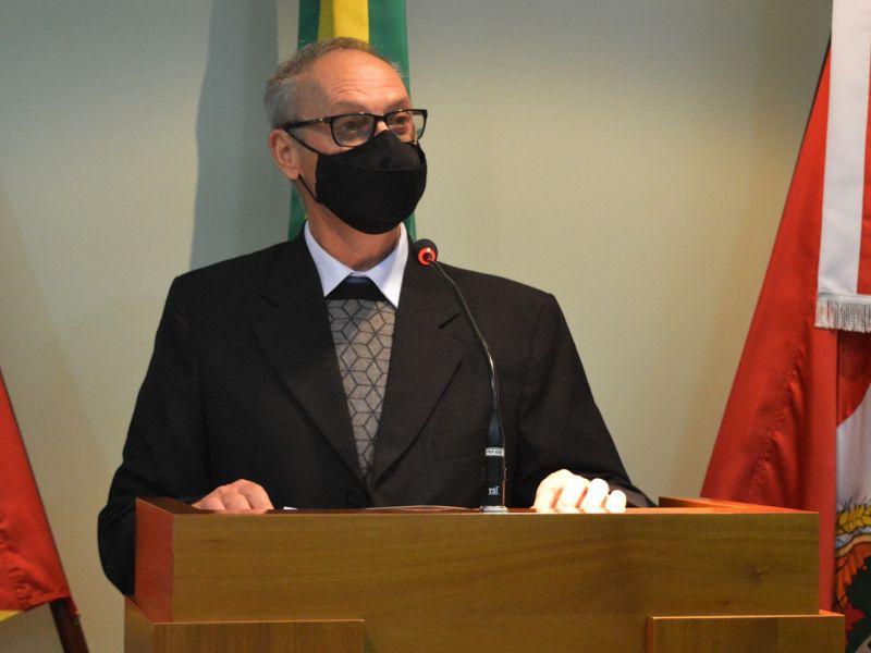 Foto de capa da notícia Dalcero comenta retorno do Executivo sobre Casa da Cultura