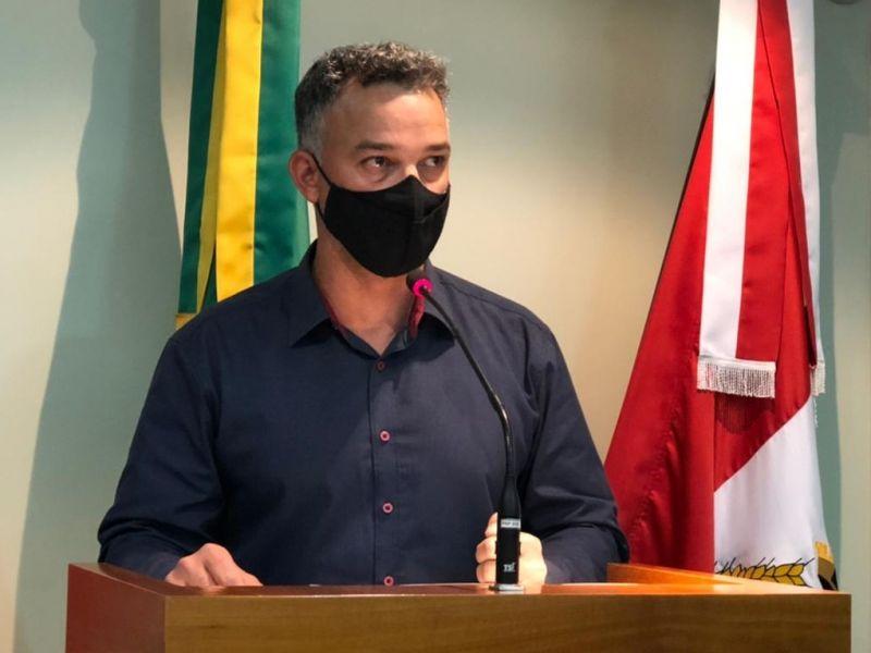 Foto de capa da notícia Luizão comenta retomada das aulas presenciais durante a pandemia