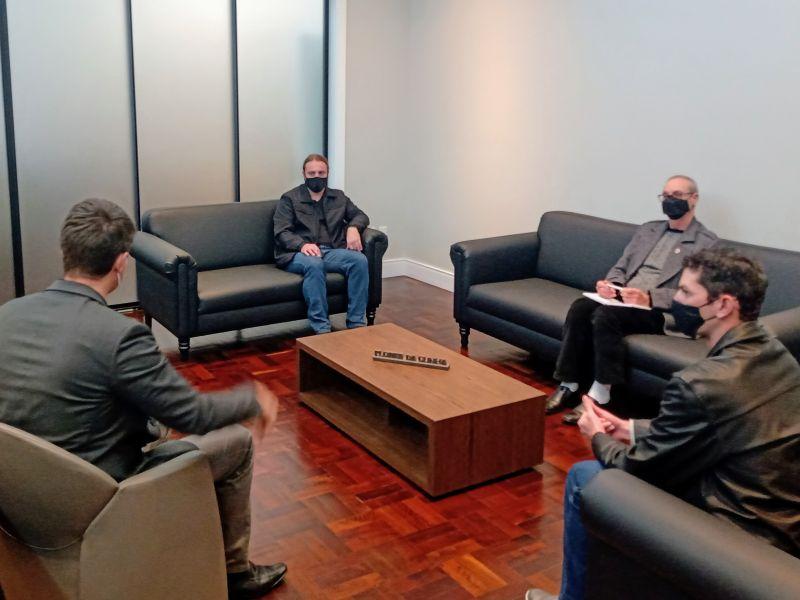 Foto de capa da notícia Comissão da Água realiza reunião com o prefeito