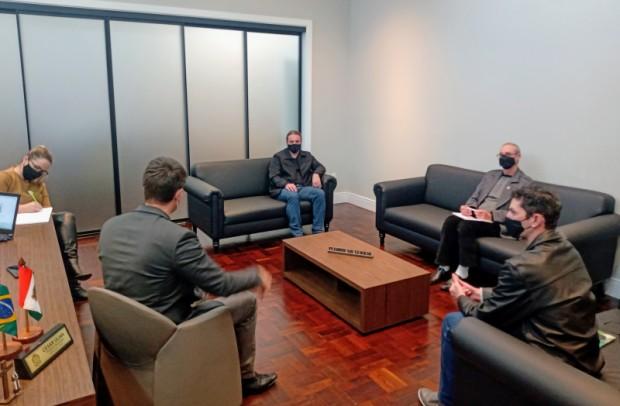 Foto de capa da notícia: Comissão da Água realiza reunião com o prefeito
