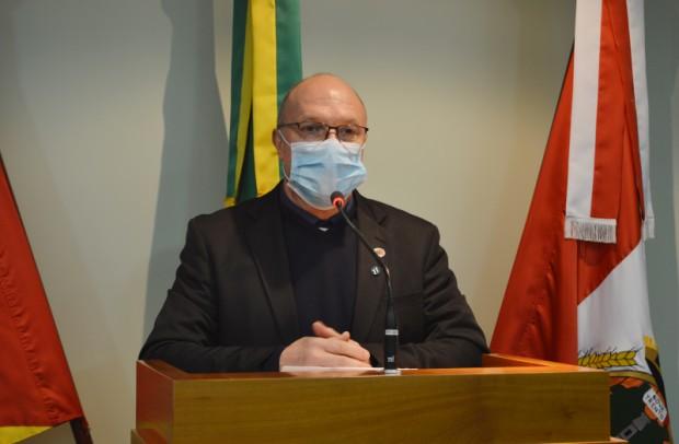 Foto de capa da notícia: Clodo Rigo defende Moção de Congratulações à Difratelli