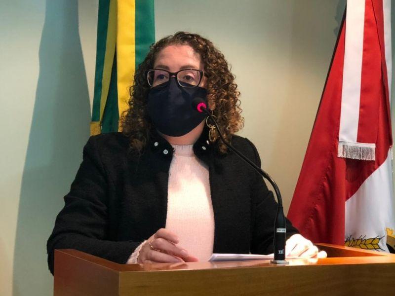 Foto de capa da notícia Silvana aborda questões do trânsito