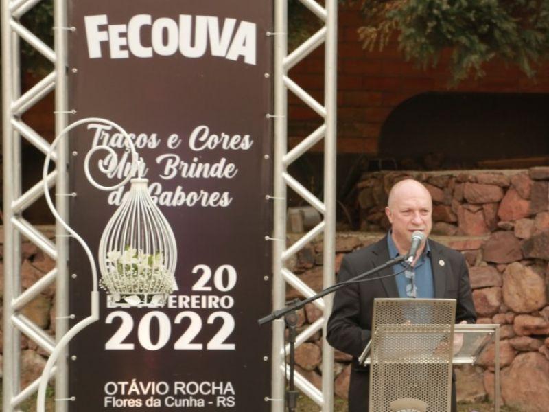 Foto de capa da notícia Câmara participa de evento de Lançamento da Fecouva 2022