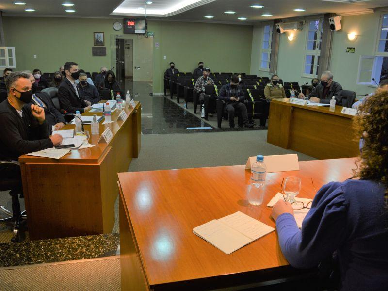 Foto de capa da notícia Vereadores aprovam concessão de Título de Cidadão Benemérito a Hilário Sgarioni