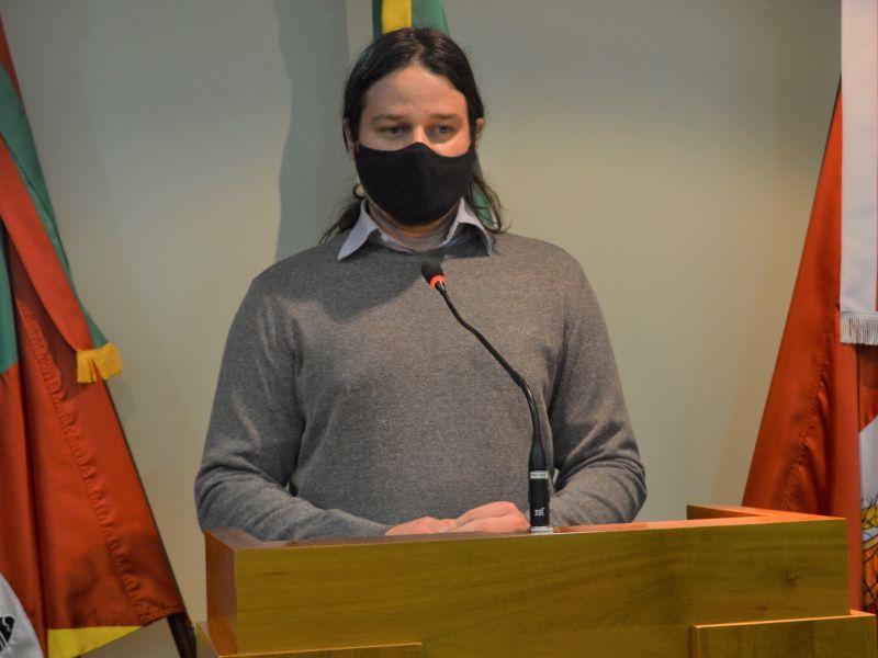 Foto de capa da notícia Presidente da Banda Florentina participa da Tribuna Livre