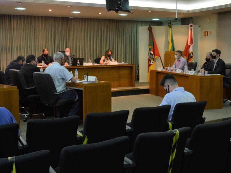 Foto de capa da notícia Cinco projetos de lei aprovados nesta segunda