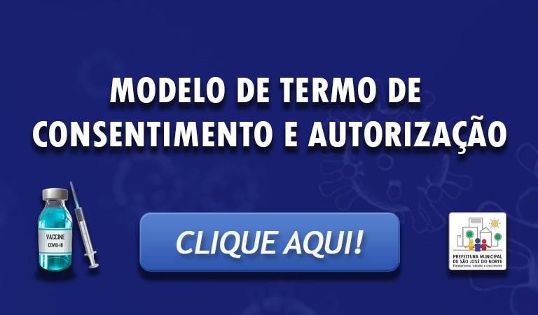 Banner 3 - TERMO DE CONSENTIMENTO E AUTORIZAÇÃO