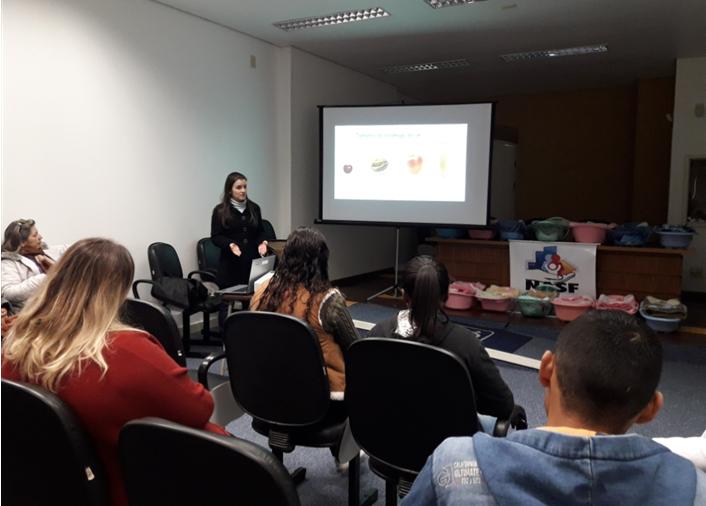 Foto de capa da notícia Mãe-me-quer: Nasf e Voluntárias promovem terceiro encontro do grupo de gestantes