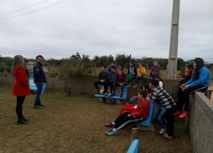 Foto de capa da notícia Smascim, Emater e jovens do Passinho organizam a expansão do Projeto Rede