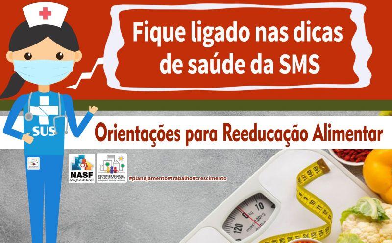 Foto de capa da notícia Orientações para Reeducação Alimentar - NASF