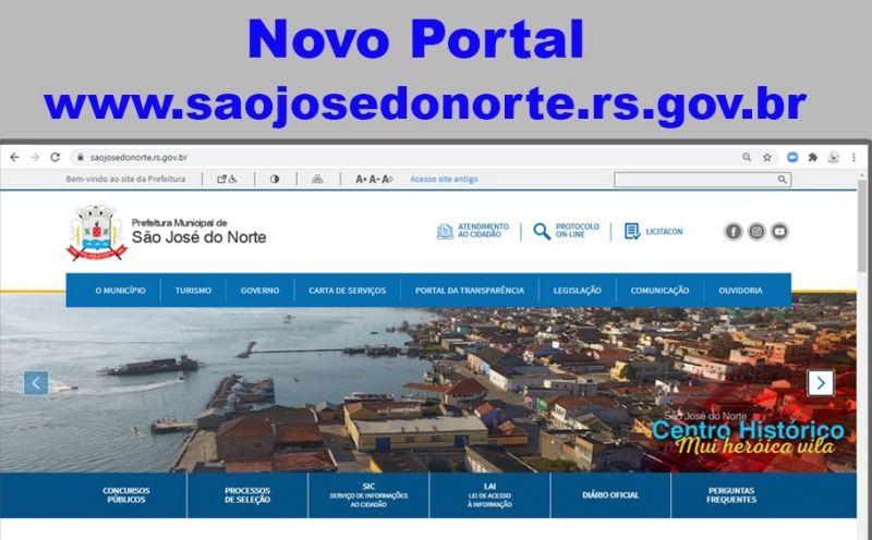 Foto da Notícia Prefeitura Municipal lança novo portal visando melhorar a interação com os cidadãos