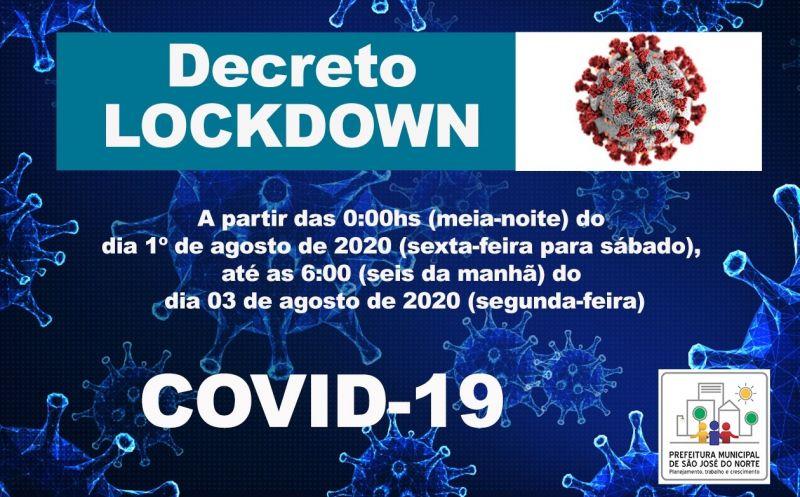 Foto de capa da notícia Executivo Municipal considera deliberação do Comitê de Gestão da Crise do Coronavírus e anuncia LOCKDOWN para o próximo fim de semana