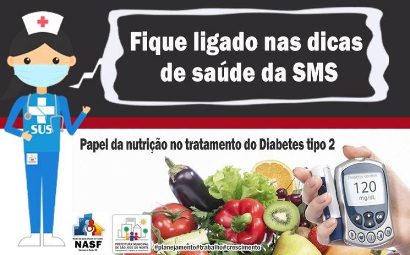 Foto de capa da notícia Papel da nutrição no tratamento do Diabetes tipo 2
