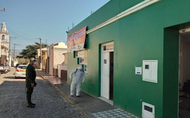 Foto de capa da notícia Executivo reforça ações de higienização de espaços públicos com apoio da Marinha do Brasil