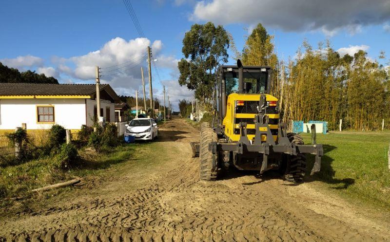 Foto de capa da notícia: Prefeitura realiza manutenção no Beco do Pontal
