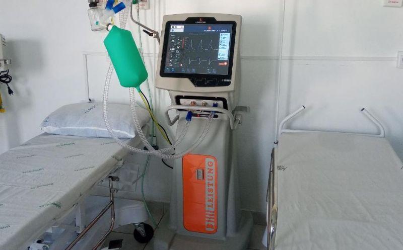 Foto de capa da notícia Executivo realiza aquisição de mais um respirador para o Hospital Municipal