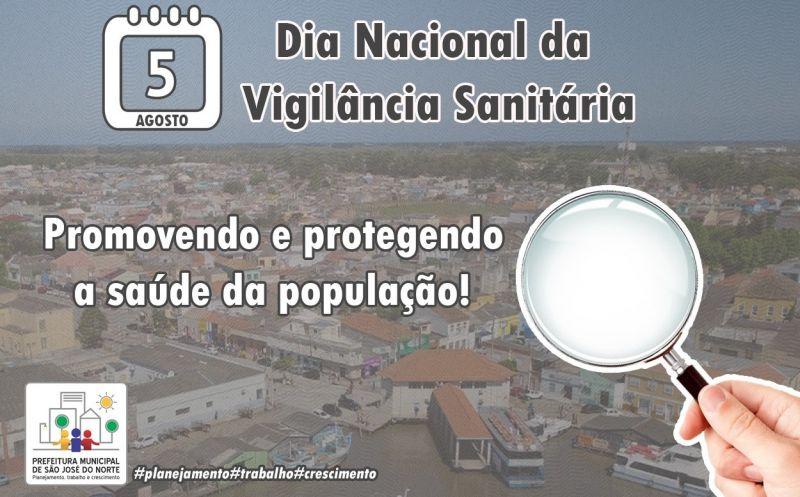 Foto de capa da notícia 05 de agosto | Dia Nacional da Vigilância Sanitária
