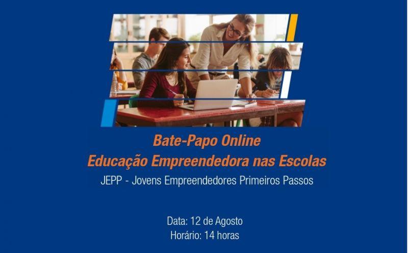 Foto da Notícia Smec e Sebrae promovem bate-papo on-line Educação Empreendedora nas Escolas