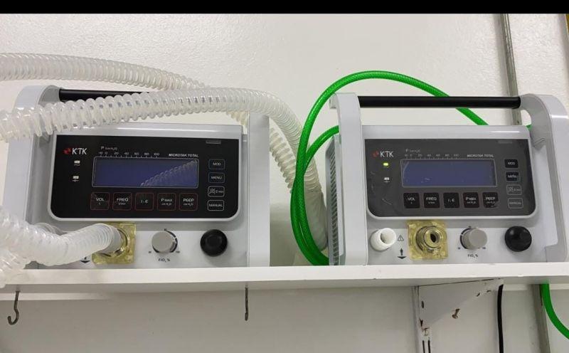 Foto de capa da notícia Hospital Municipal recebe dois respiradores portáteis do Ministério da Saúde
