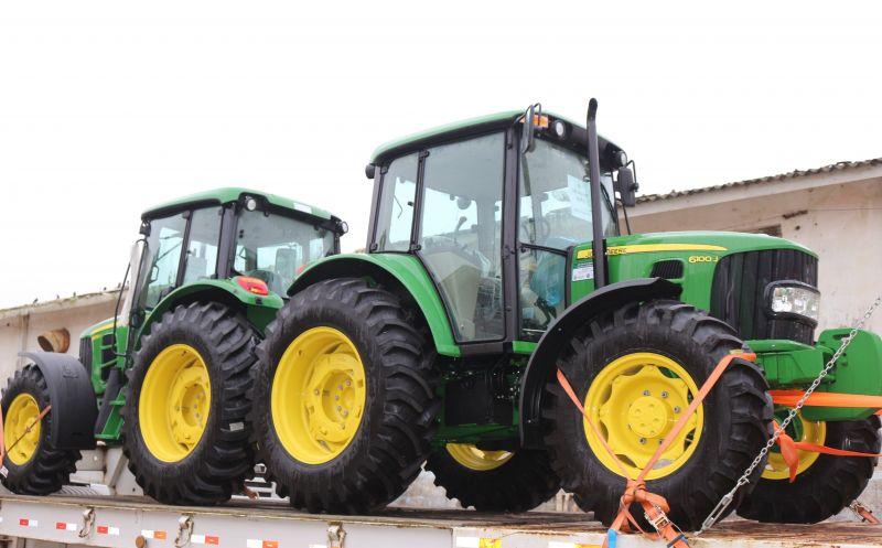 Foto da Notícia Executivo Municipal realiza ações de infraestrutura agrícola e incentiva a agricultura familiar