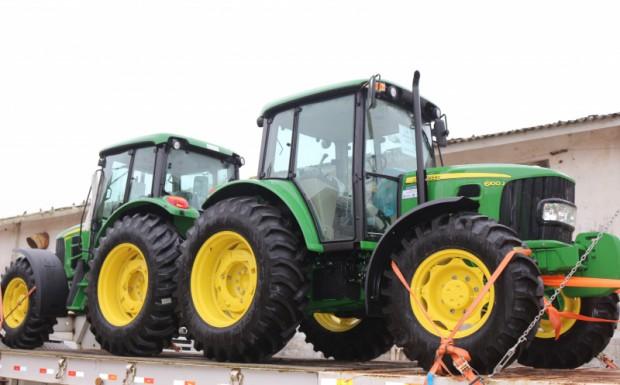Foto de capa da notícia: Executivo Municipal realiza ações de infraestrutura agrícola e incentiva a agricultura familiar