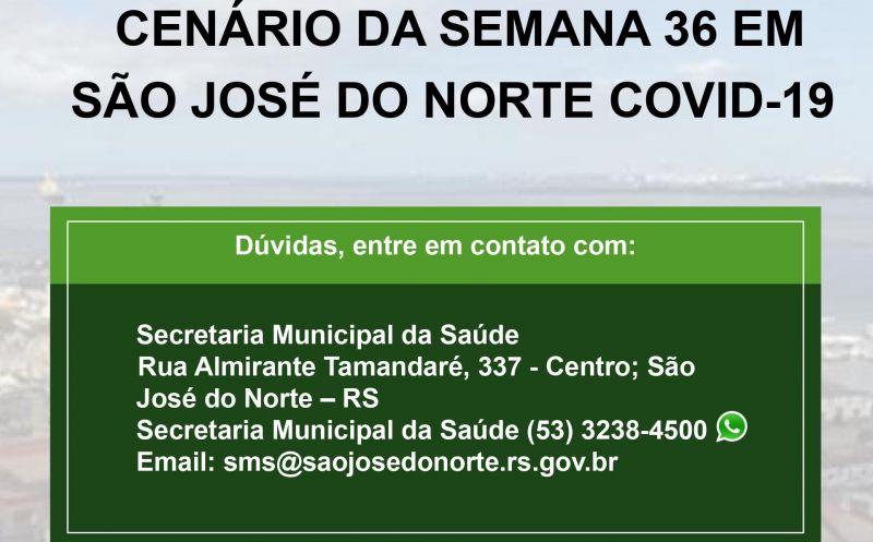 Foto de capa da notícia Secretaria da Saúde divulga boletim semanal com detalhamento de casos de Covid-19 em São José do Norte