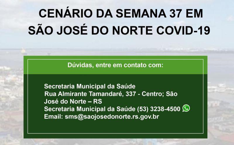 Foto de capa da notícia Secretaria da Saúde divulga segundo boletim semanal com detalhamento de casos de Covid-19 em São José do Norte
