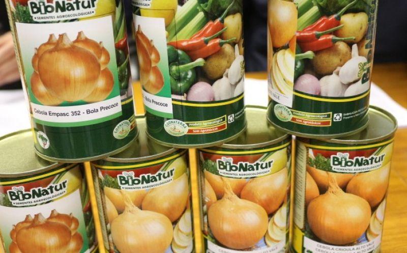Foto de capa da notícia Smap e Emater/Ascar - RS entregam 386,50kg de sementes de cebolinho do Programa PAA Sementes