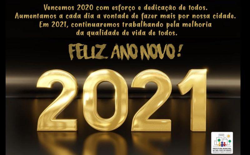 Foto de capa da notícia Feliz 2021!