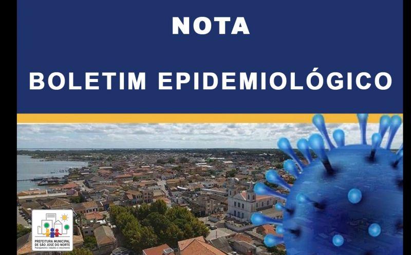 Foto de capa da notícia NOTA - BOLETIM EPIDEMIOLÓGICO