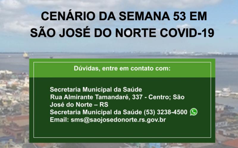Foto de capa da notícia Secretaria da Saúde divulga mais um boletim semanal com detalhamento de casos de Covid-19 em São José do Norte
