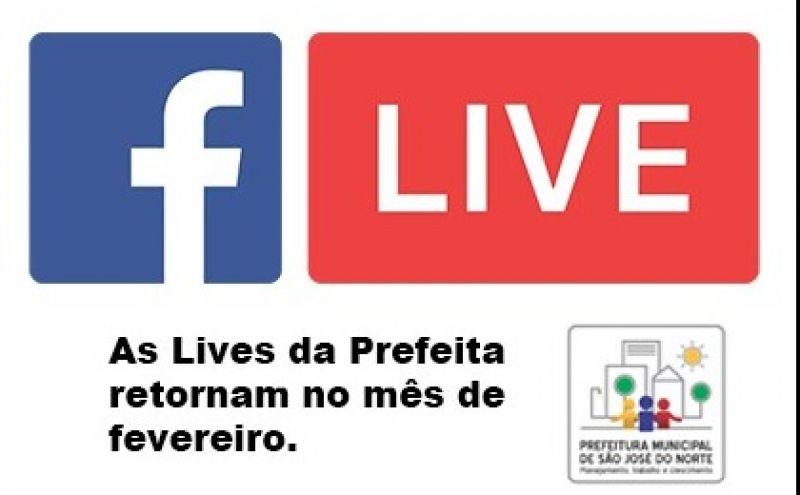 Foto de capa da notícia LIVE DA PREFEITA
