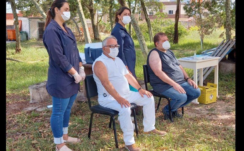 Foto de capa da notícia: São José do Norte inicia processo de vacinação contra COVID-19
