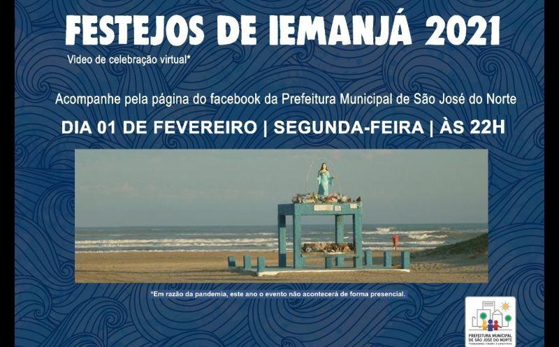 Foto de capa da notícia Prefeitura e Centros de Umbanda organizam Live em homenagem a Iemanjá