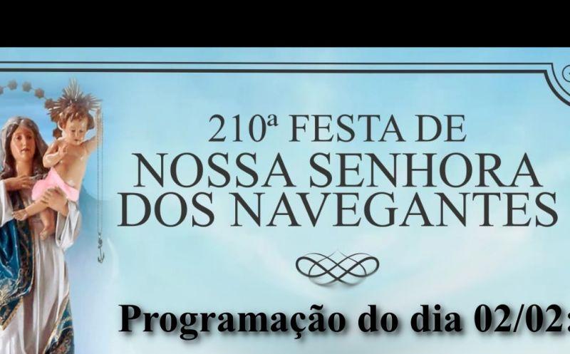 Foto de capa da notícia Igreja Matriz São José organiza homenagem a Nossa Senhora dos Navegantes