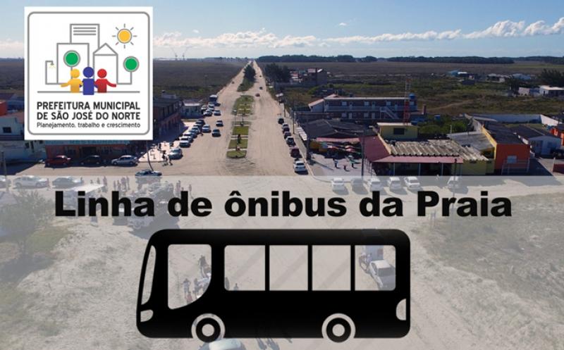 Foto de capa da notícia Linha da Praia tem alterações nos horários de ônibus nesta segunda-feira