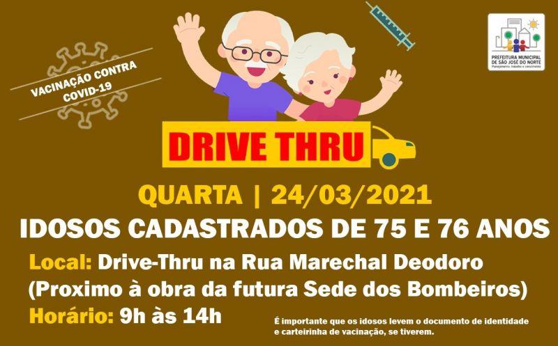 Foto de capa da notícia DRIVE THRU