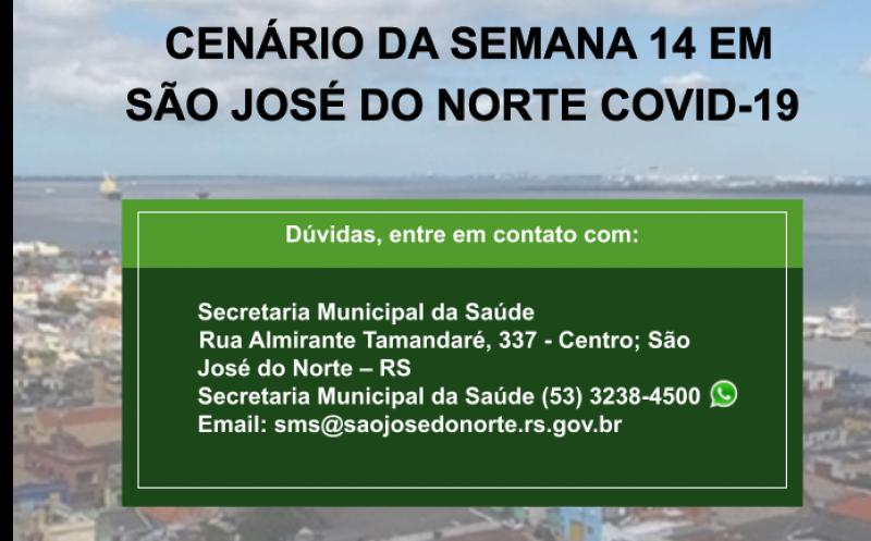 Foto de capa da notícia Secretaria da Saúde divulga mais um boletim semanal com detalhamento de casos de Covid-19 em São José do Norte - Semana de 04/04 à 10/04