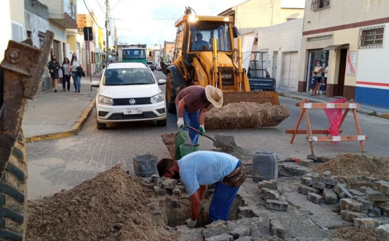 Foto de capa da notícia Smou realiza ações de manutenção em algumas vias da cidade