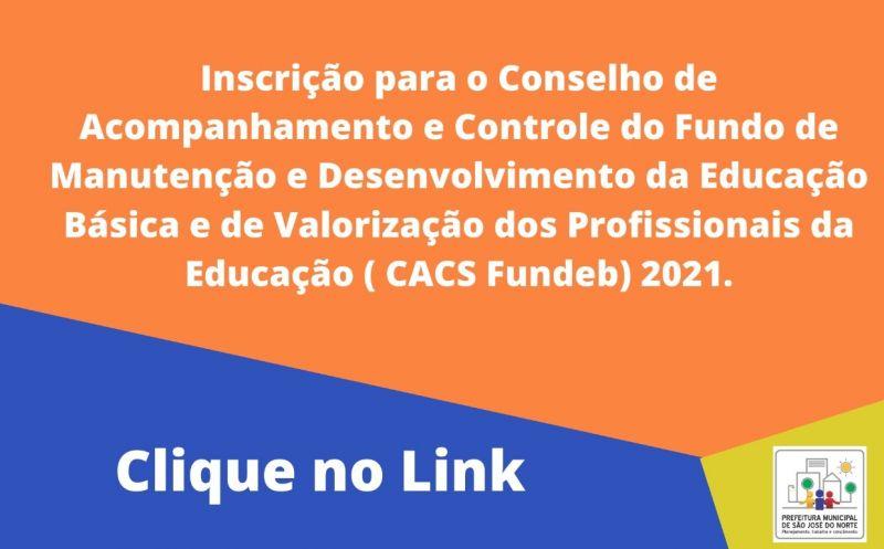 Foto de capa da notícia Executivo Municipal publica Edital para processo seletivo para escolha dos Conselheiros que irão integrar o novo CACS Fundeb